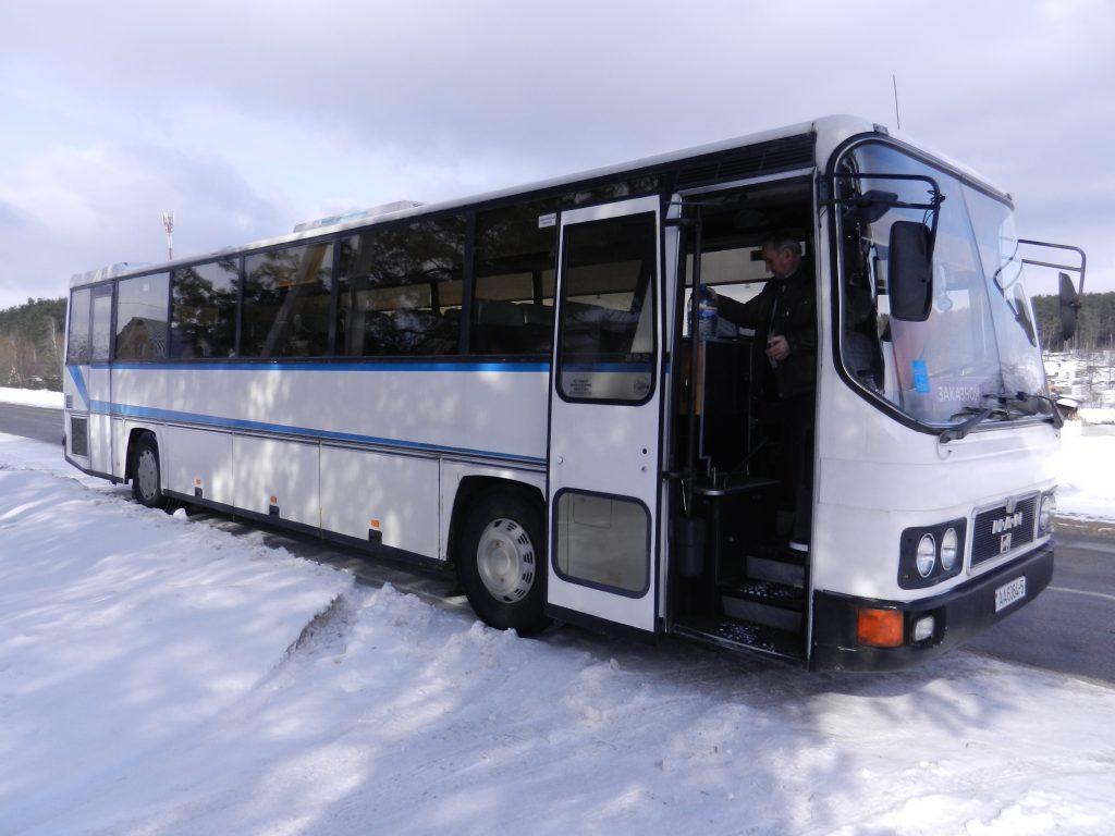фото автобуса MAN